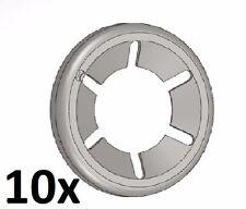 10 Stück Starlock 10mm Unterlegscheibe Sicherungsscheibe Achs-Klemmring verzinkt