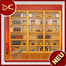 Standregal Wandregal Regal Bücherregal Bücherwand Kiefer Massivholz gelaugt B245
