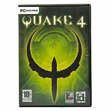 Quake 4 (PC DVD-ROM) First Person Shooter FPS Complete Computer Game UK PAL