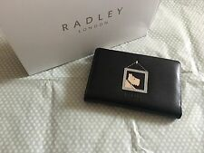 BN Medium Black Photograph Dog Radley Leather Purse / Wallet £53 RRP (13)