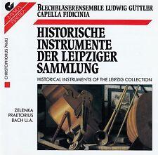 HISTORISCHE INSTRUMENTE DER LEIPZIGER SAMMLUNG / CD - TOP-ZUSTAND
