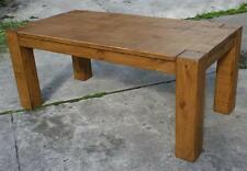 """""""any size made"""" SOLID WOODEN DINING KITCHEN TABLE RUSTIC PLANK PINE FURNITURE"""