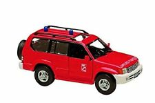 TOYOTA LAND CRUISER 2000 - 1:43 FRENCH FIREFIGHTER SOLIDO DIECAST MODEL CAR