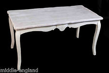 DINING TABLE SHABBY CHIC VINTAGE LOIRE FRENCH STYLE FURNITURE ANTIQUE CREAM