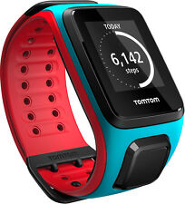 TomTom Runner 2 Cardio GPS Watch with Music Large Strap - Blue