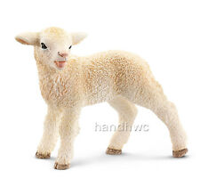 Schleich 13744 Lamb Standing Baby Sheep Model Farm Animal Toy - NIP
