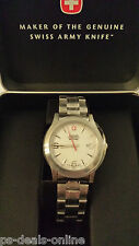 Brand New Wenger Ladies Field Swiss Military Watch + Case Womens