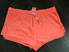 SEXY Neon orange shorts - PLUS SIZE 20 - BNWT, beach/summer hols -stretch