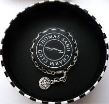NEW Authentic 10th Anniversary Diamond THOMAS SABO CHARM CLUB Silver Bracelet