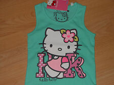 Hello Kitty super süsses Top Größe 98 türkis /100% Baumwolle