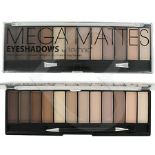 Technic Eyeshadow Mega Matte Nude Palette 12 Shades Naked Natural Eye Shadow