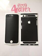 Schwarz Matt Apple iPhone 6 Skin Folie Sticker Schutz Folie Decal Design