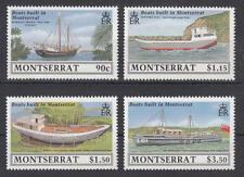 Montserrat - Michel-Nr. 746-749 postfrisch/**  (Schiffe / Ships)