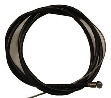 ukscooters LAMBRETTA FRONT BRAKE CABLE INNER AND OUTER BLACK NEW