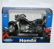 Welly - HONDA F6C (Black) - Motorbike Model Scale 1:18