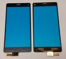 Sony Xperia Z3 Compact Digitizer Touchscreen  Display Glas Front Scheibe schwarz
