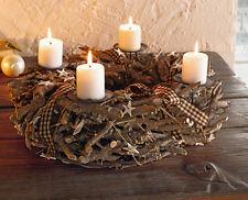 weihnachts adventskr nze aus holz ebay. Black Bedroom Furniture Sets. Home Design Ideas