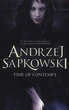 The Time of Contempt by Andrzej Sapkowski (Witcher 2) Paperback Book