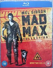 Mad Max Collection Blu-Ray Box Set **Region Free**
