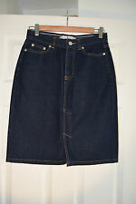 TOMMY HILFIGER DENIM SKIRT UK 10 designer jeans style skirt