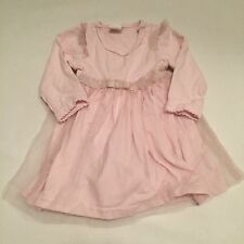 H&M pink tutu mesh party dress Baby girls clothes 0-3 Months -I combine postage