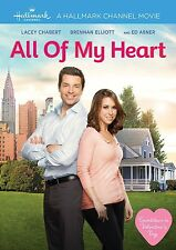 ALL OF MY HEART (2016 RELEASE) BRAND NEW SEALED R1 DVD HALLMARK