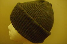 Mens Knitted Beanie- Army Watch Type 100% Wool Green and other colours