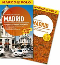 !! Madrid 2014  UNGELESEN Reiseführer mit Karte Marco Polo Spanien