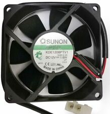 Industrial Sunon 12V/1.6W 80mm Brushless Electrical Cooling/Cooler Fan Powerful