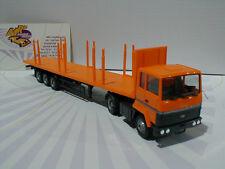 """Herpa 305037 # Ford Transconti Rungen-Sattelzug in """" Orange """" 1:87 NEU"""