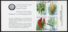 Finland: Forestry Research Organisation - leaves and flowers; fine used booklet