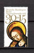 Berlin 1978 Einzelmarke Nr. 581 postfrisch aus Block 7 ** Weihnachten