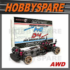 NEW 1/10 SAKURA CS D4 DRIFT AWD ADVANCED RC CAR CHASSIS KIT Unassembled