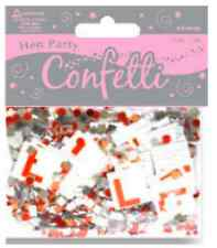 HEN PARTY FOILETTI - FOIL CONFETTI 14g PACK - SCATTER OVER PARTY TABLES!