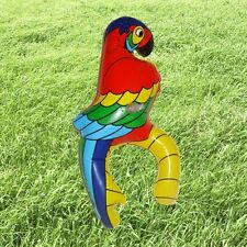 Inflatable Blow up Parrot Bird Hawaiian Beach Party Pirate Fancy Dress Costume