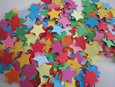 MULTI-COLOURED CARD STARS - PARTY TABLE SCATTTERS / TABLE CONFETTI (LOT 1)