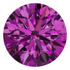 1.4 MM CERTIFIED Round Fancy Purple Color SI 100% Real Loose Natural Diamond #H