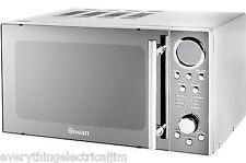 Swan SM3080N Microwave Free Standing 20 Litre 800 Watt Silver