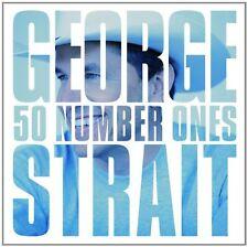 GEORGE STRAIT 50 NUMBER ONES 2CD ALBUM SET