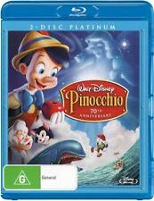 Pinocchio (1940) (Platinum Edition)  - BLU-RAY - NEW Region B
