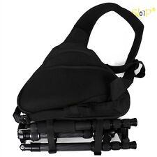 Camera DSLR Sling Shoulder Travel Carry Bag Backpack Lens Case For Canon Nikon