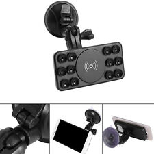 Universal Qi Wireless Charger Dock Car Holder Mount Pad For Samsung S6 S7 Edge