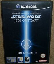 STAR WARS JEDI OUTCAST for NINTENDO GAMECUBE & Wii Boxed Instruction Knight II 2