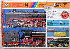 ARNOLD-N Gleisanlagen Buch Band 1 Technik 1978 1976 Gleispäne Gleisplan Spur N