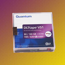 Quantum DLT VS1, MR-V1MQN-01, 80-320 GB, Data Cartridge, Datenkassette NEU & OVP