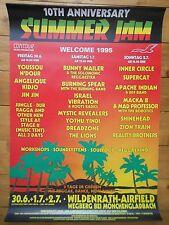 SUMMER JAM  1995 GLADBACH   orig.Concert-Konzert-Tour- Poster-Plakat  DIN A1 .
