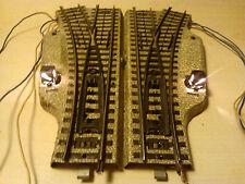 Märklin H0 5202 elektr. Weichenpaar M Gleis guter getesteter Zustand