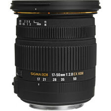 SIGMA 17-50mm F2.8 EX DC OS HSM LENS FOR NIKON & BONUS SANDISK 8GB CARD