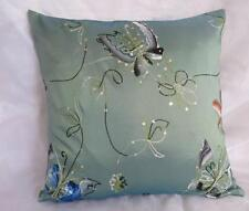 Exquisite Hand Painted Butterfly Embroidered Cushion Cover 45cm