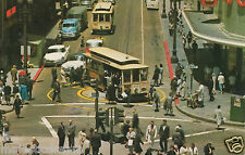 "San Francisco Postcard - ""Powell and Market Streets"" 
